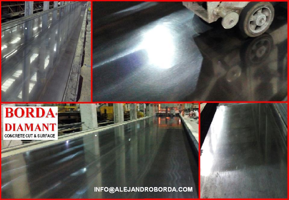pulir molde prefabricados de hormigón